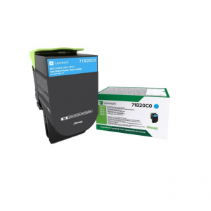 refurbished cartridge lexmark cyan 71b20c0 2.3k
