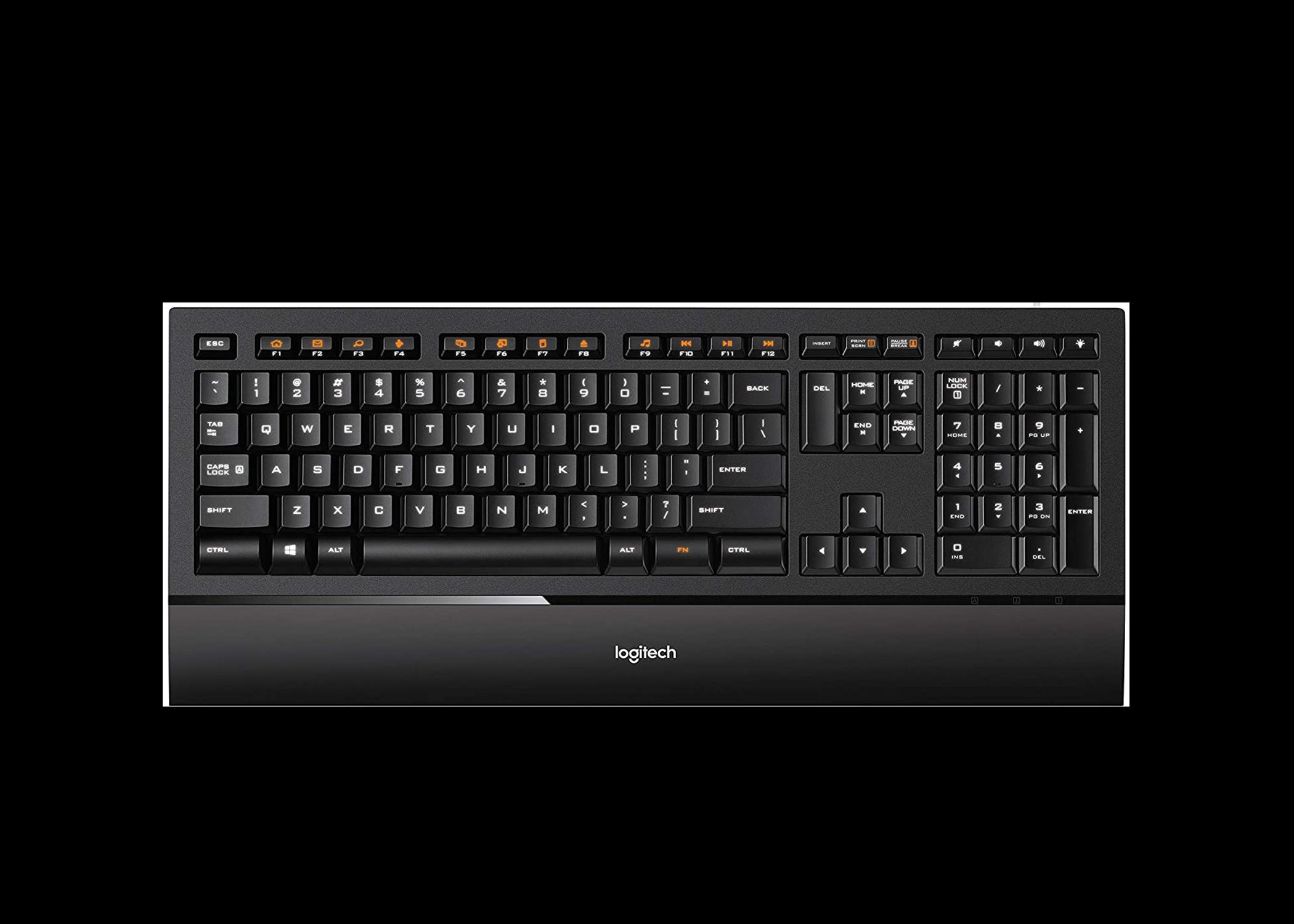 LOGITECH Illuminated Keyboard K740 1